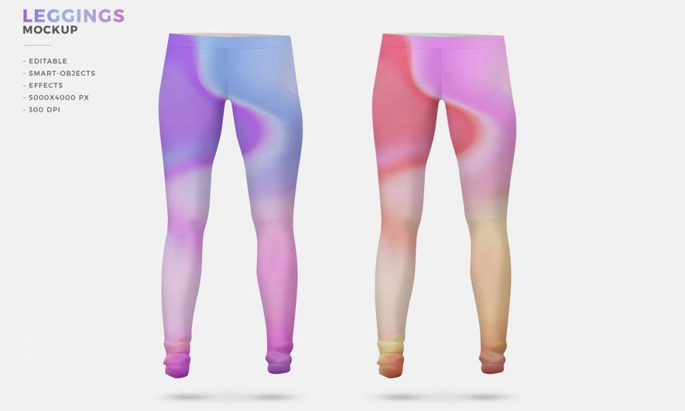 Free-Women-Fashion-Leggings-Mockup-Design