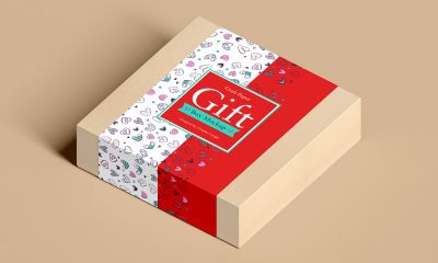 Free-Packaging-Craft-Gift-Box-Mockup-Design