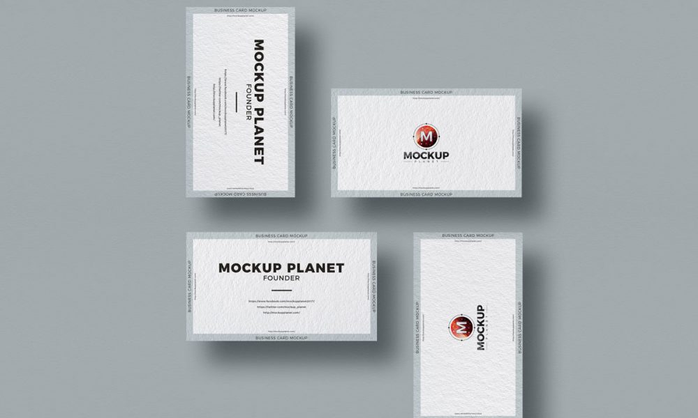 Free-Business-Card-Mockup-Design-Vol-1