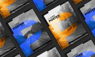 Free-18x24-Grid-Branding-Poster-Mockup-Design