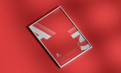Free-Elegant-Framed-Poster-Mockup-Design
