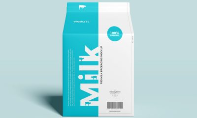 Free-Front-View-Milk-Carton-Packaging-Mockup-Design