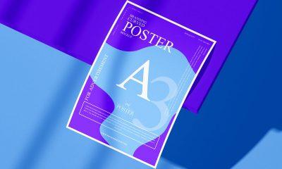 Free-Brand-Presentation-A3-Curved-Poster-Mockup-Design