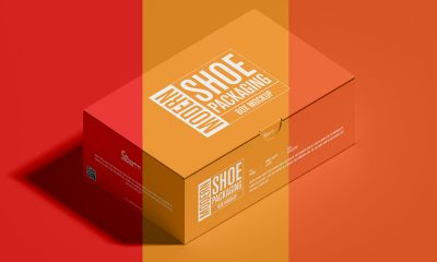 Free-PSD-Fabulous-Shoe-Box-Packaging-Mockup-Design