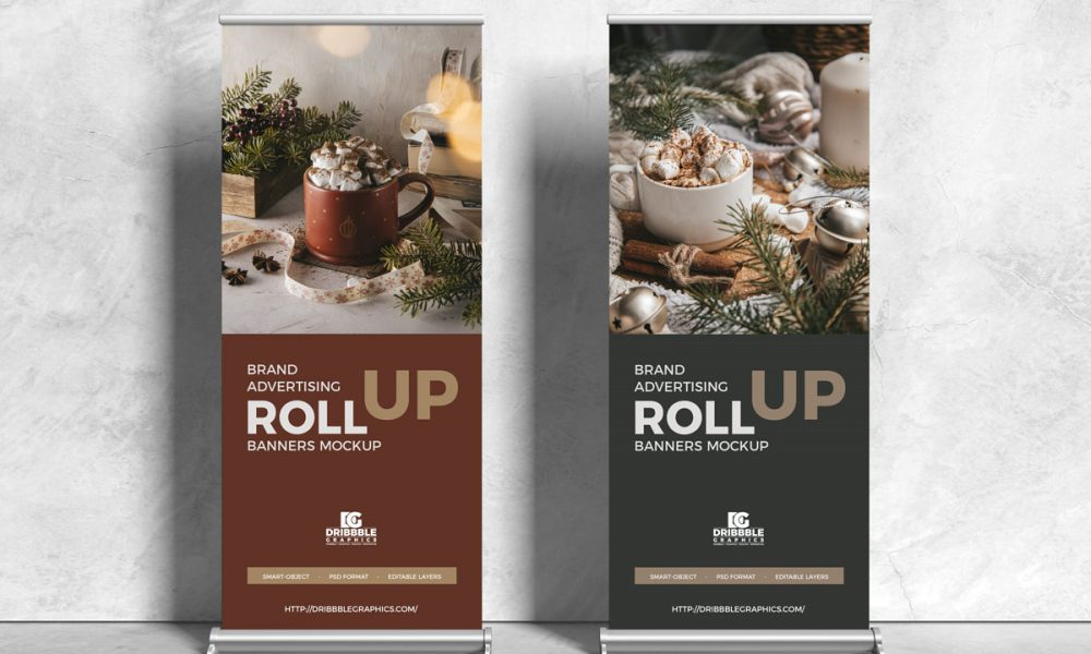 Free-Front-View-Roll-Up-Stands-Banner-Mockup-Design
