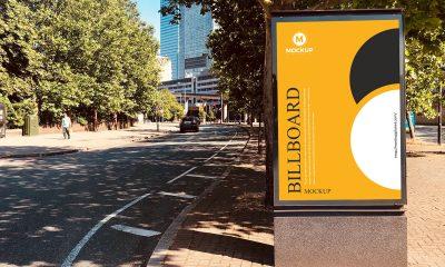 Free-Outdoor-Advertising-Road-Side-Billboard-Mockup-Design