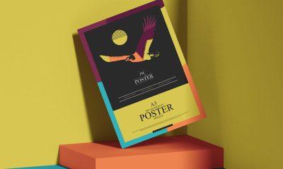 Free-Stylish-Branding-A3-Poster-Mockup-Design
