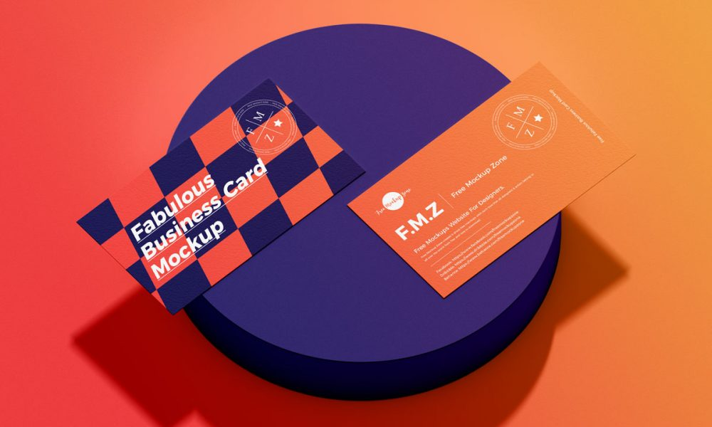 Free-Fabulous-Branding-Business-Card-Mockup-Design