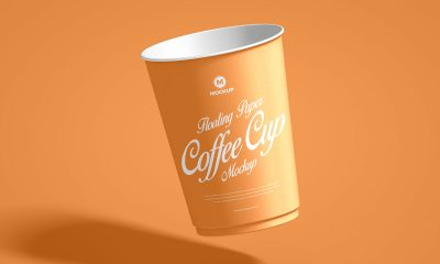Free-Floating-Paper-Coffee-Cup-Mockup-Design