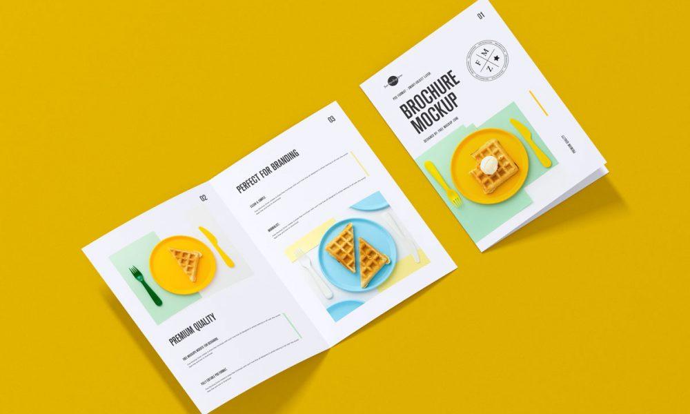 Free-A4-Size-Branding-Brochure-Mockup-Design