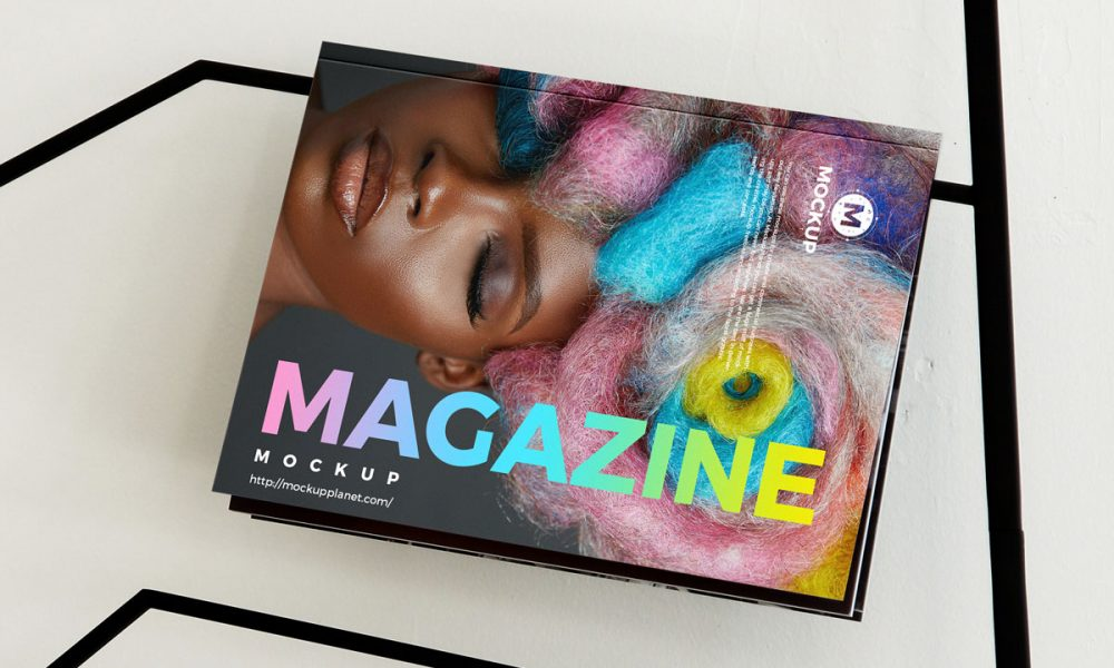 Free-Display-Magazine-Mockup-Design