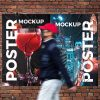 Free-Front-View-Urban-Poster-Mockup-Design