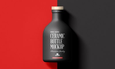 Free-Top-View-Modern-Ceramic-Bottle-Mockup-Design
