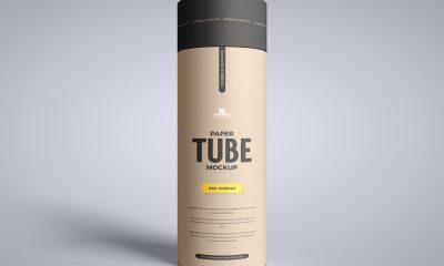 Free-Front-View-Branding-Paper-Tube-Mockup-Design