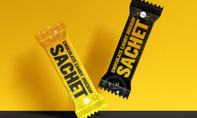 Free-Sachet-of-Chocolate-Candy-Packaging-Mockup-Design