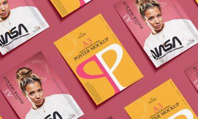 Free-A3-Paper-Branding-Poster-Mockup-Design