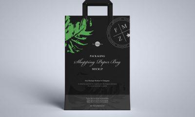 Free-Modern-Paper-Shopping-Bag-Mockup-Design