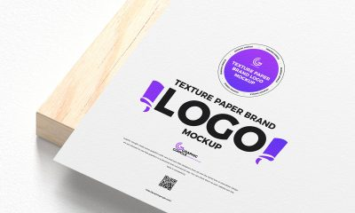 Free-PSD-Texture-Paper-Logo-Mockup-Design