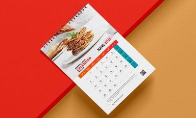 Free-Top-View-A3-Wall-Calendar-Mockup-Design