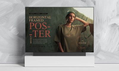 Free-Indoor-Advertising-Horizontal-Poster-Mockup-Design