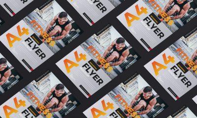 Free-Premium-A4-Flyer-Mockup-Design