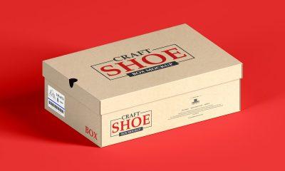 Free-Craft-Packaging-Shoe-Box-Mockup-Design