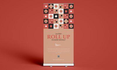 Free-Premium-Standee-Roll-up-Banner-Mockup-Design
