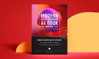 Free-Fabulous-A4-Cover-Book-Mockup-Design