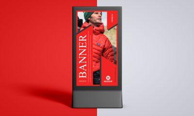 Free-Premium-Advertising-Stand-Banner-Mockup-Design